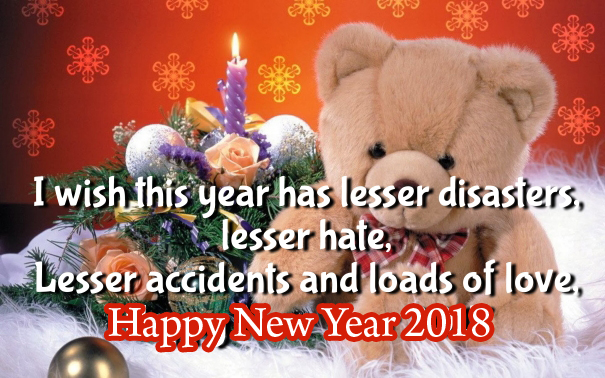 New Year 2018 Teddy Bear Wallpapers Quotes And Images