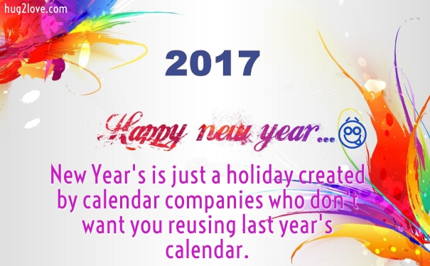 New Year Funny Jokes wishes 2017