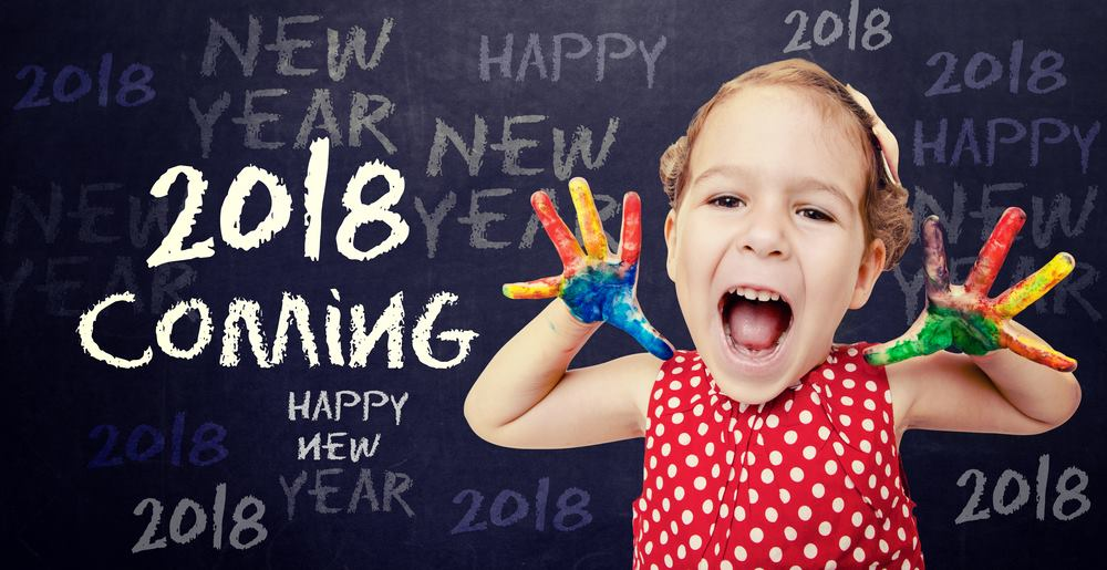 Happy New Year 2018 Baby Images