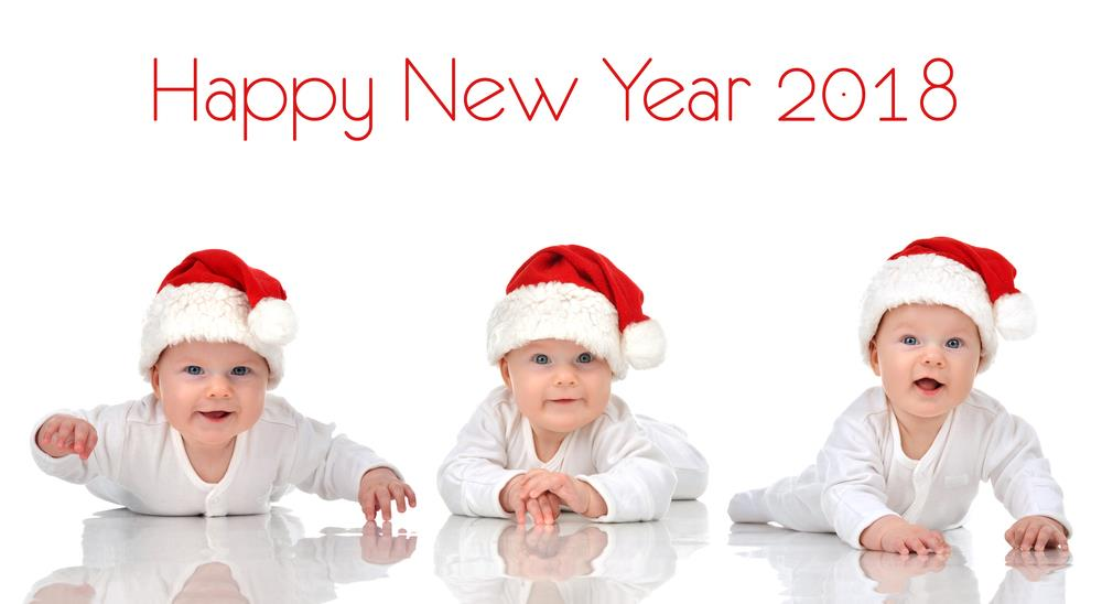Happy New Year 2018 Beautiful Baby Images Hd
