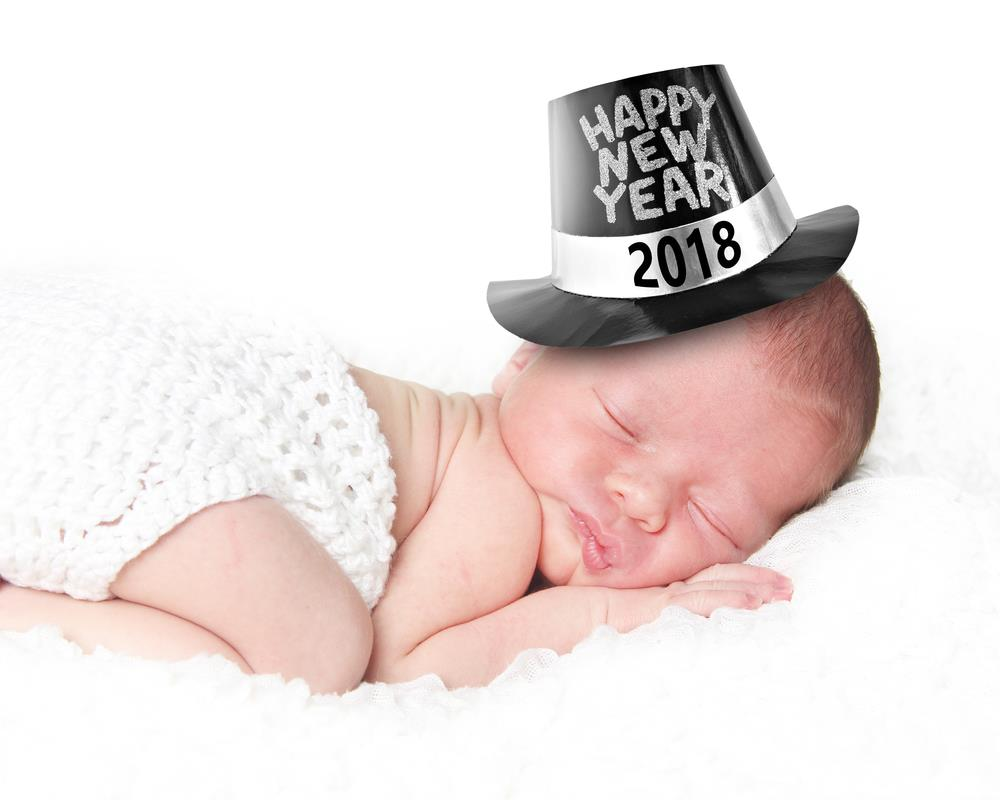 Happy New Year 2018 Cute Baby Photos With A Smile