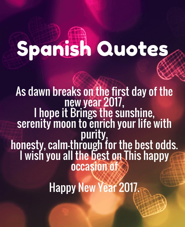 spanish happy new year greetings