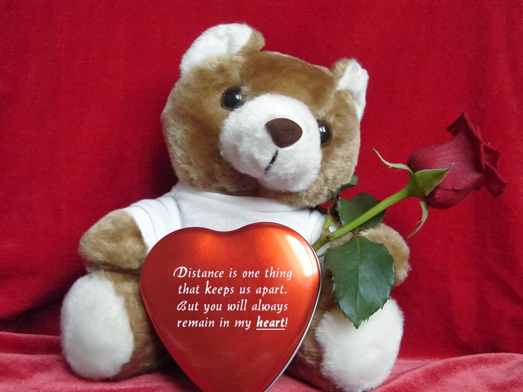 Teddy bear love heart image 2017