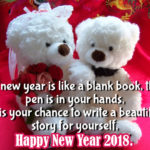 35 Best Happy New Year 2018 Teddy Bear Pictures with Quotes & Wishes