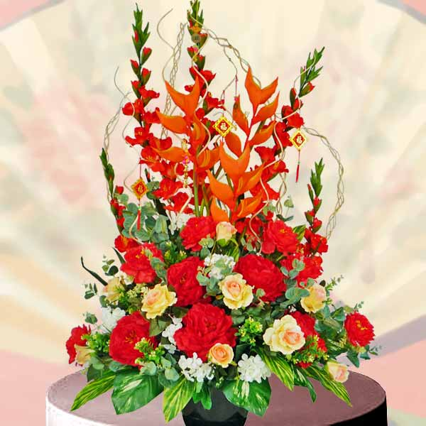 wholesale flowers centerpieces new year decor