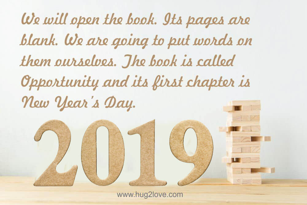50 Best New Year Resolution Quotes 2019 with Images - Happy New Year ...