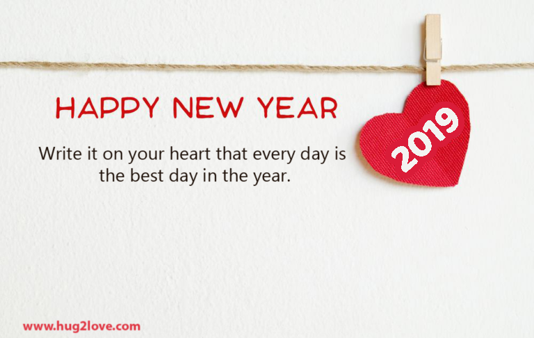 20 Happy New Year 2019 I Love You Quotes Images for Couples - Happy ...