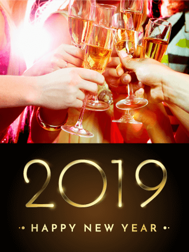 unique happy new year greeting ecards 2019 to send online and share happy new year 2019 quotes