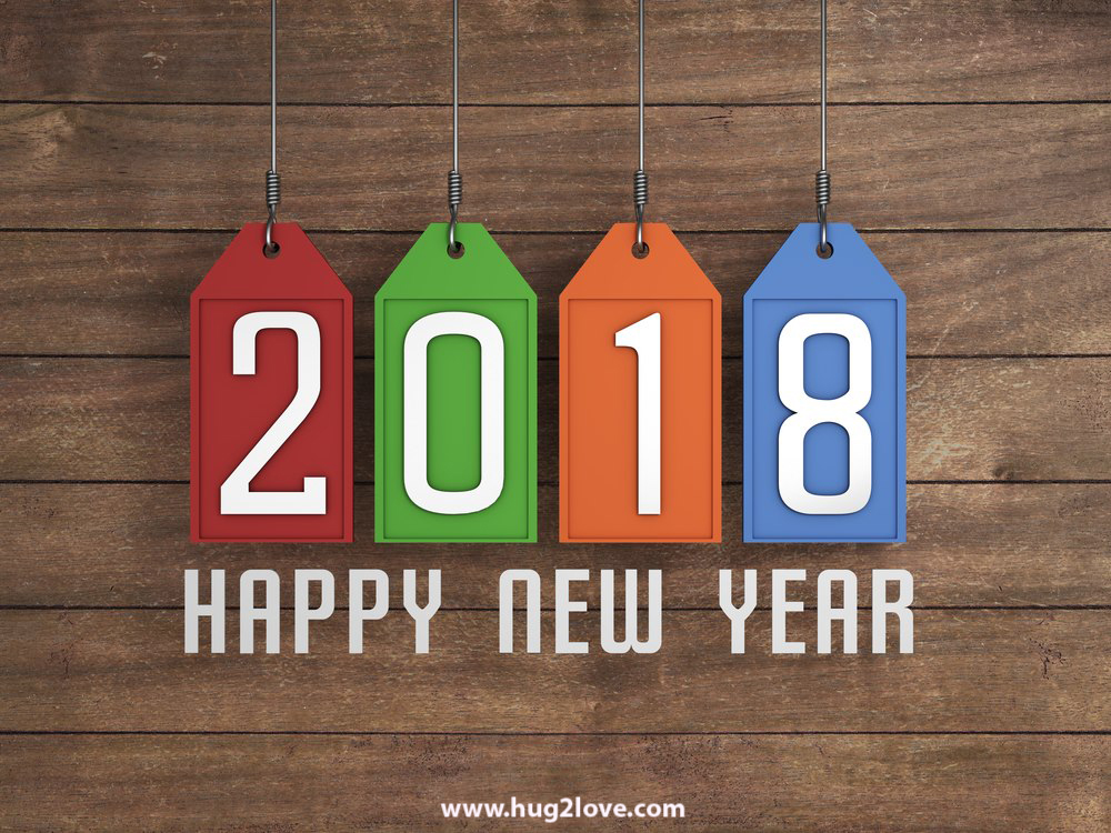 50 Happy New Year 2018 Background Images In HD