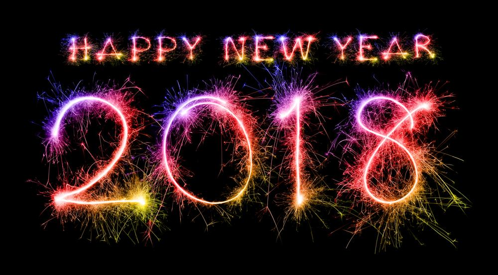 Happy New Year 2018 Background Picture