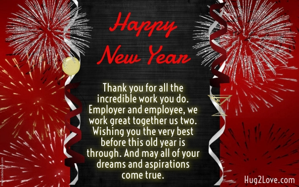 best new year wishes messages for employees
