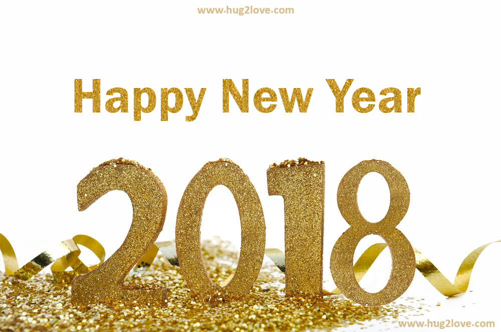 cool 2018 golden happy new year wallpaper picture hd for pc
