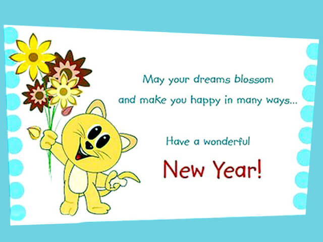 cute new year ecards 2019
