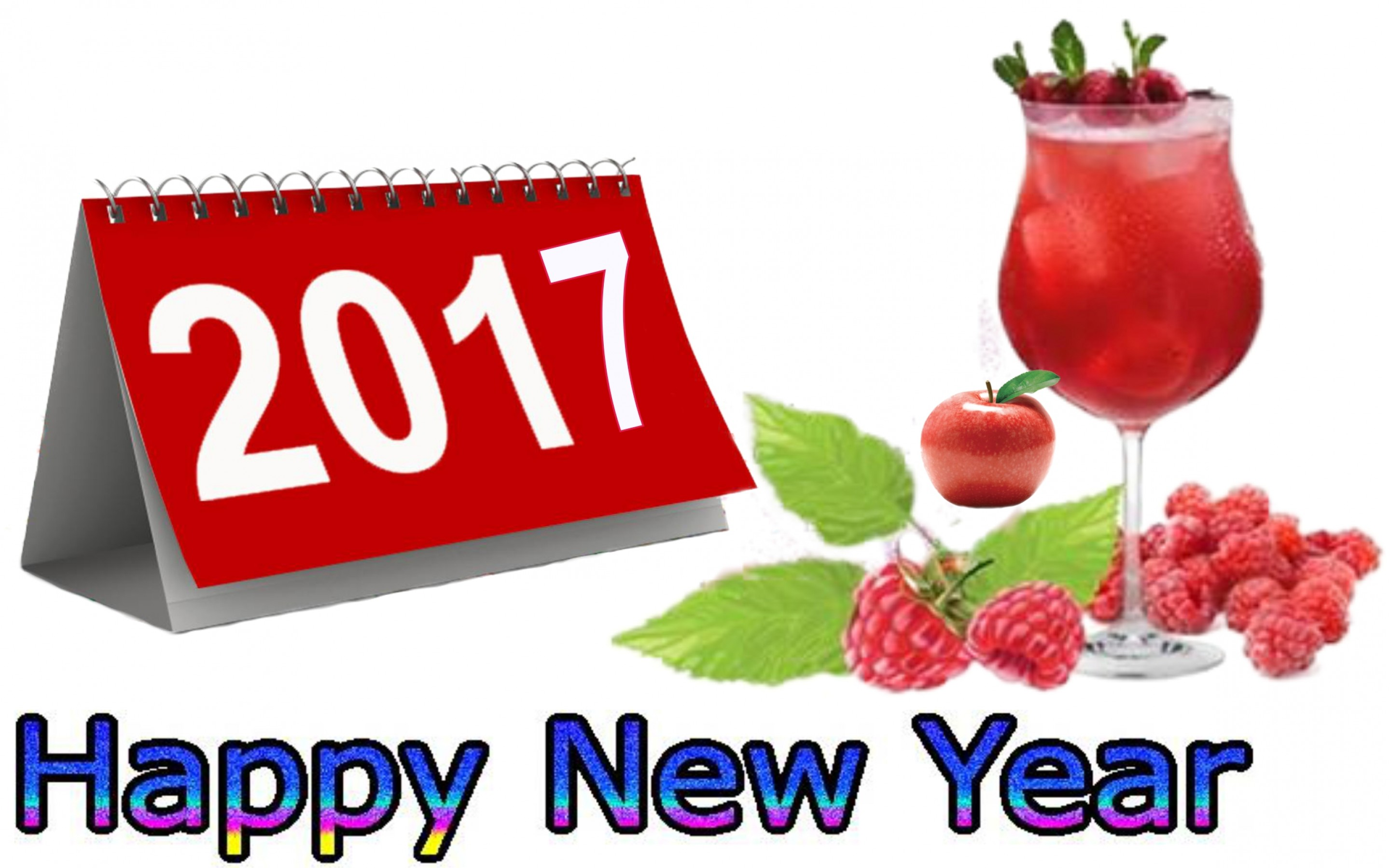 Happy New Year 2017 Calender Wallpaper HD - Happy New Year