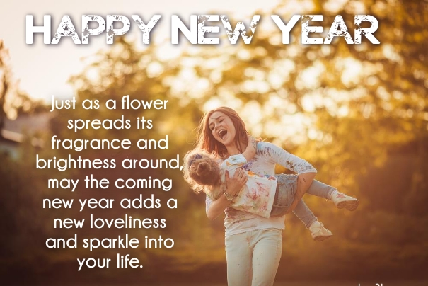 new year 2019 daughter greeting quotes