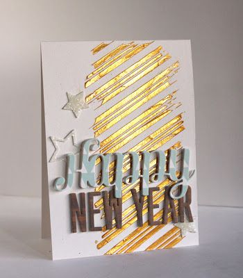 new year cards diy design ideas