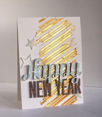 new year cards diy design ideas