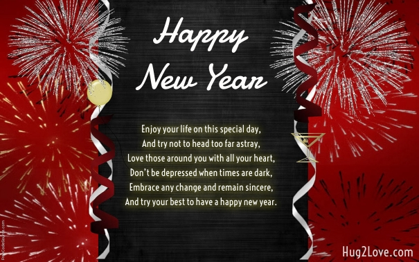30 Happy New Year 2021 Wishes Quotes for Son - Quotes Square