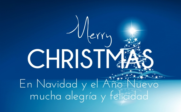 Merry Christmas Wishes To All 2015 2016 Sayings Quotes: Merry Christmas And Happy New Year In Spanish 2019 Quotes