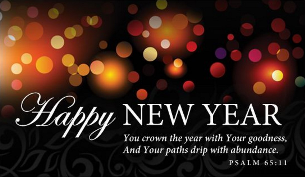 christian happy new year wishes