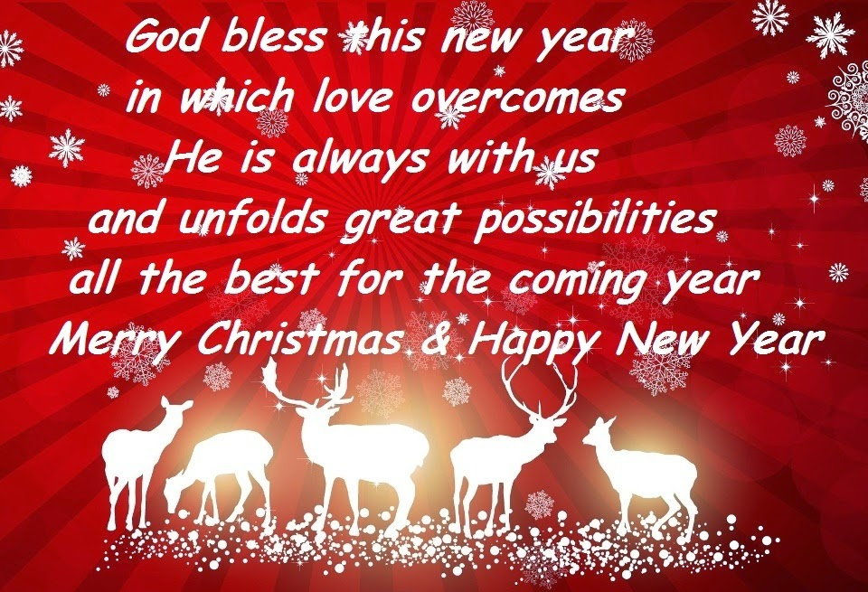 45 religious christian new year 2018 wishes from verses jesus images