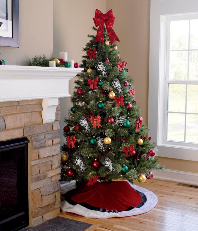 29 Inspirational Christmas Tree Decorating Ideas 2018