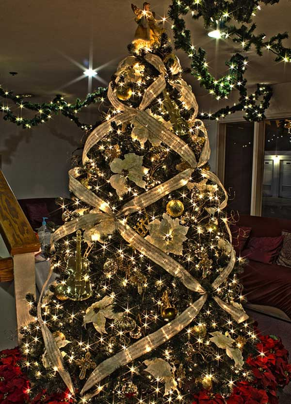 29 Inspirational Christmas Tree Decorating Ideas 2020