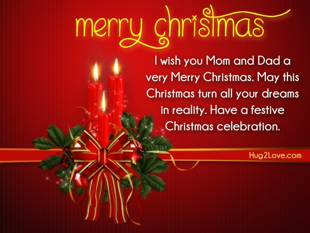 Merry Christmas Wishes To All 2015 2016 Sayings Quotes: 70 Christmas Wishes For Mom And Dad (Parents XMAS Wishes) 2017