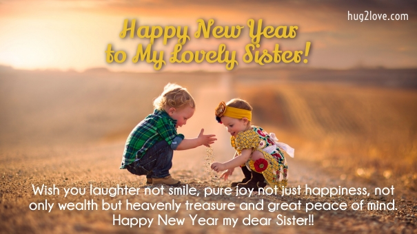 happy new year quotes sister