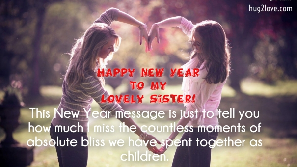 50 happy new year 2019 quotes for sister wishes for sister