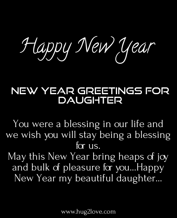 36 Happy New Year 2020 Wishes For Daughter With Love Images Happy