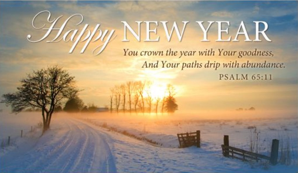 45 Religious Christian New Year 2018 Wishes from Verses (Jesus Images)
