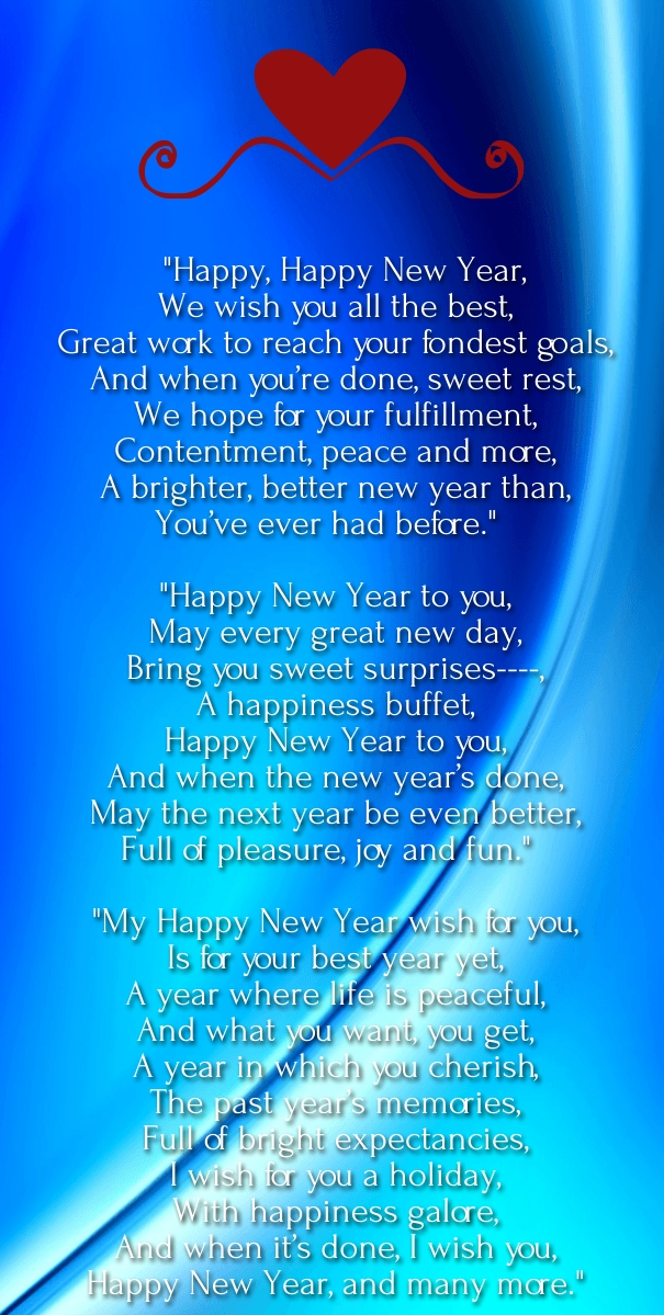 new year poems and quotes for kids to wish images