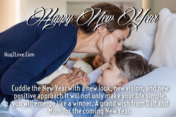 new year wishes for son from mom