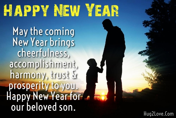 advisory quotes for son to wish new year 2019