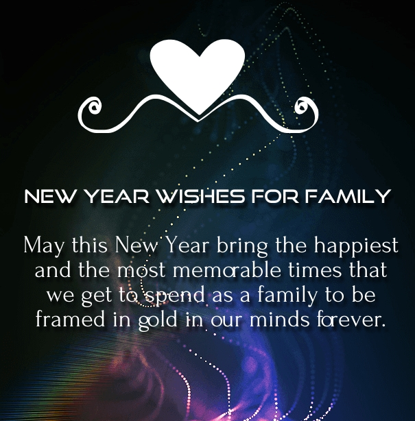 25 Heartly New Year 2020 Wishes Greetings for Family and ...