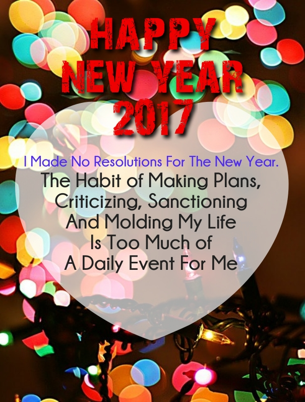 new years 2017 resolution wishes