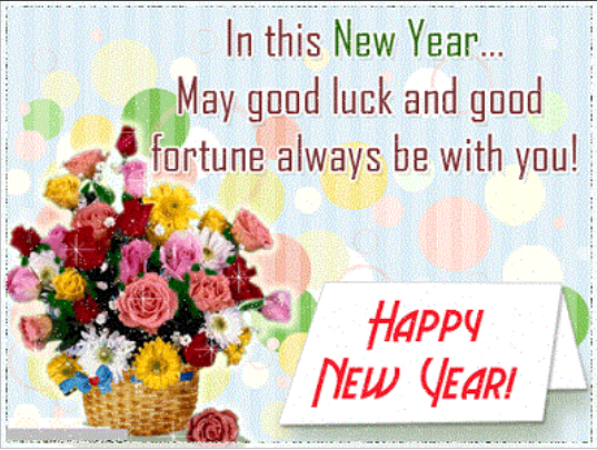happy new year greeting images 2019