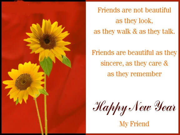 yellow flowers new year 2019 ecards