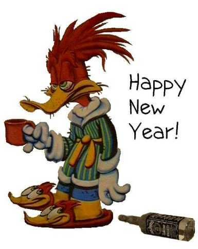 best new year cartoons charcater image 2018 wishes