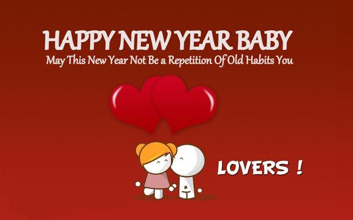 happy new year baby stock photos