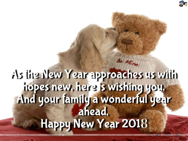 Cute Teddy Bear Wallpapers Quotes 2018 Happy New Year 2019 Quotes