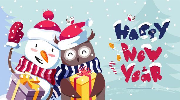 Happy New Year Cartoon 93