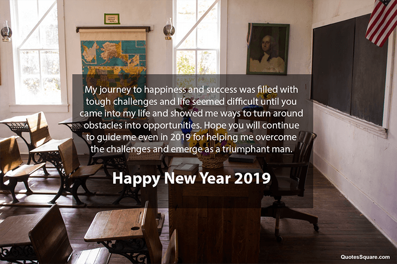 30 New Year 2020 Wishes for Teachers & Mentors with Respect