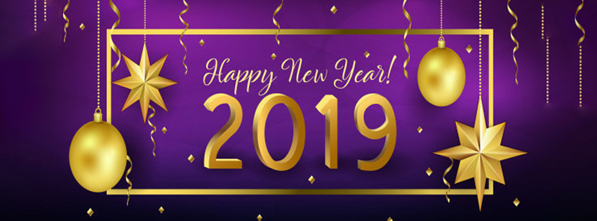 25 Happy New Year 2019 Facebook Timeline Covers to Wish your FB ...