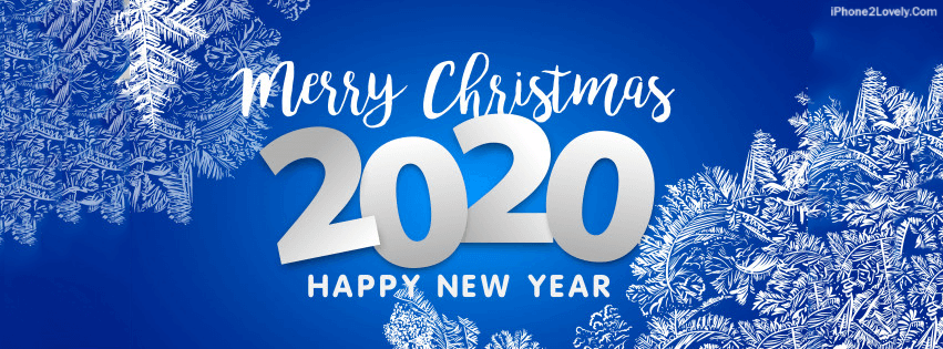 Merry Christmas And Happy New Year 2020 Fb Banner 25 Happy New Year 2020 Facebook Timeline Covers to Wish your FB