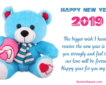 35 best happy new year 2019 teddy bear pictures with quotes wishes