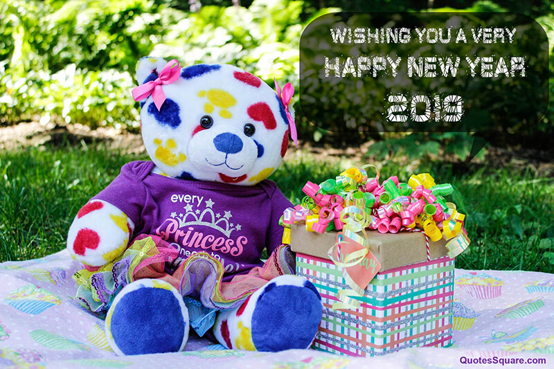 35 Best Happy New Year 2019 Teddy Bear Pictures with ...