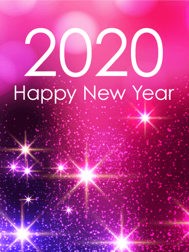 Latest New Year 2020 Wallpapers and Images for iPhone X and