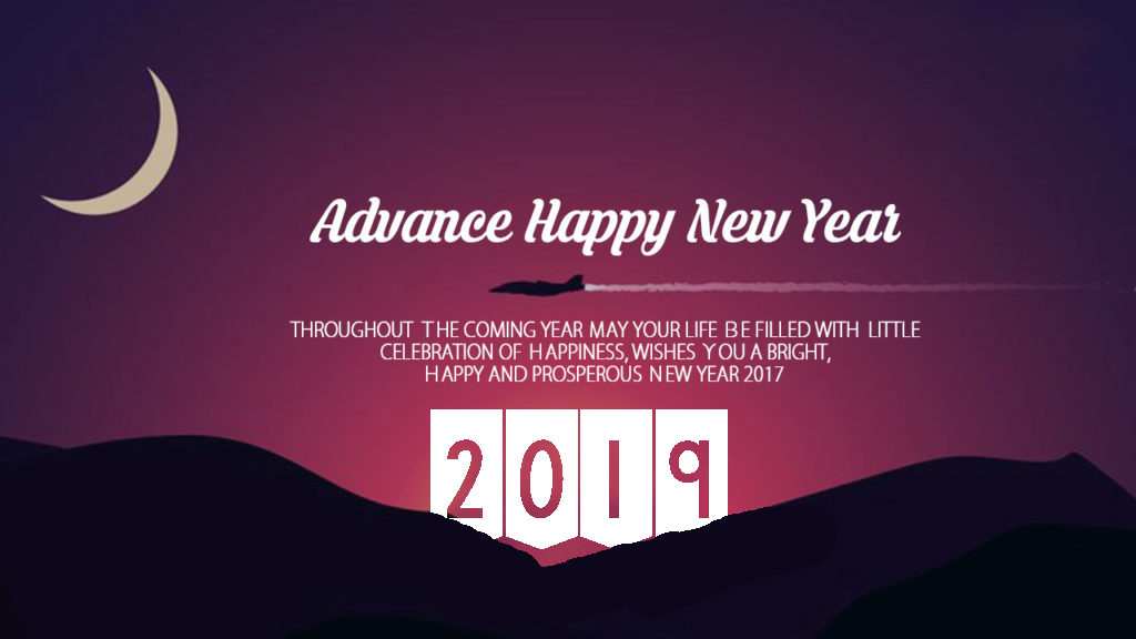 advance happy new year 2019